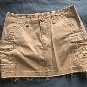 Old navy khaki skirt, size 1